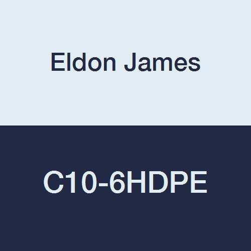 Pack of 10 5//8 Hose Barb to 3//8 Hose Barb Eldon James C10-6HDPE Natural High Density Polyethylene Reduction Coupler