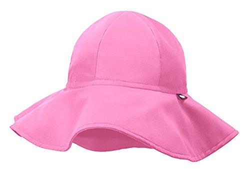 Ciudad Hilos Floppy Swim Sombrero con SPF50+ para niños y niñas Sun Hat para playa piscina Park, Chicle