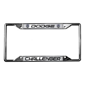Amazon.com: Dodge / Challenger License Plate Frame: Automotive