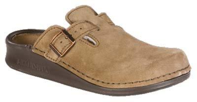 Tatami Oklahoma - Zapatos con hebilla de ante para mujer Beige