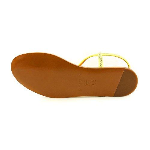 Femmes 38 Pointure Chaussures EU Jaune Cynna Via Sandales Spiga Rq8nE