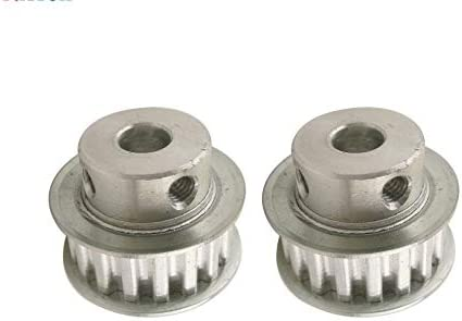 Size : 5mm WNJ-TOOL 2pcs XL 17T Timing Pulley 5//6//6.35//8//10//12mm Inner Bore 17 Teeth 11mm Width Aluminum Alloy Synchronous Timing Belt Pulley