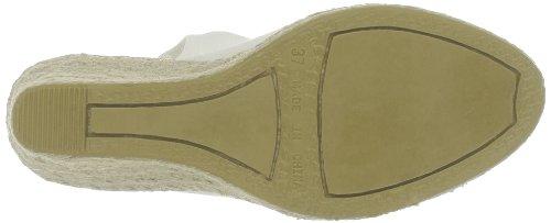 US Polo Assn - Sandalias de tela para mujer Blanco (Blanc (Whi))