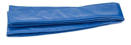 Women Faux Leather Cinch Belt Wide Waistband Wrap Around Soft Self Tie (Soft Wide Sash)