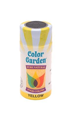 Color Garden Naturally Colored Sugar Crystals, Yellow 3 oz