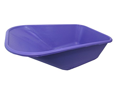 Keto-Plastics-WHEEL-BARROW-LILAC-REPLACEMENT-PLASTIC-BODY-110-LITRENO-HOLES-MADE-IN-UK