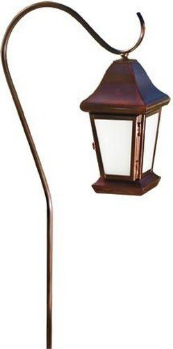 (Dabmar Lighting LV81-ABZ Hanging Lantern Path Light, 20W 12V Jc, Bronze Finish )
