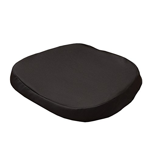 Official As Seen On TV Egg Sitter Seat Cushion The Original with Non-Slip Cover by BulbHead, Breathable Honeycomb Design Absorbs Pressure Points (Large w/Charcoal Infused Non-Slip Cover) (Cushion On Seen Tv As Gel Seat)