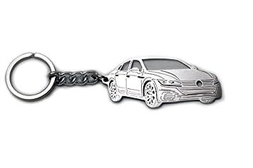 Llavero de acero inoxidable apto para Volkswagen Arteon ...