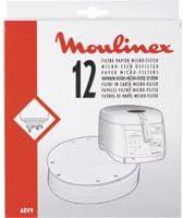 Moulinex ABV901 - Filtro papel cesta para freidoras AS5/AS7 ...