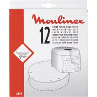 Moulinex ABV901 - Filtro papel cesta para freidoras AS5/AS7