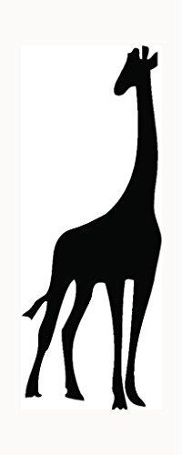 Giraffe Silhouette Rubber Stamps