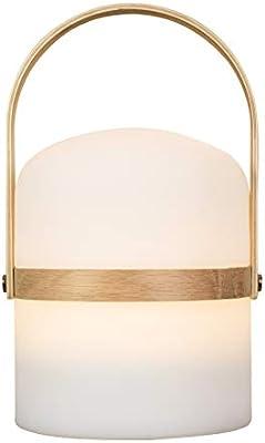Lámpara de mesa de diseño escandinavo, lámpara de jardín LED de ...