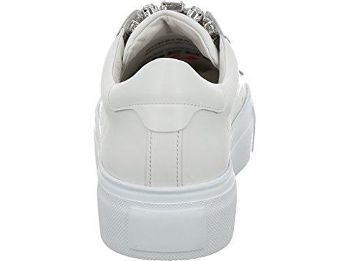 Baskets Bianco Pour 617 Schmenger White Schuhmanufaktur 20230 Kennel Crystal und Femme HXqRx8