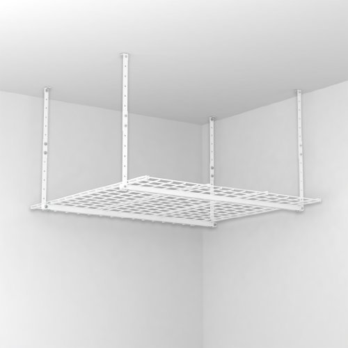 Hyloft Steel Ceiling Storage Unit 45'' X 45'' 35 Cu Ft Steel