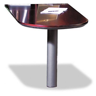 Series Corsica Credenza (Tiffany Industries CPCMAH Corsica Series 60 by 30-Inch Peninsula Desk For Credenza, Hardwood Veneer, Mahogany)