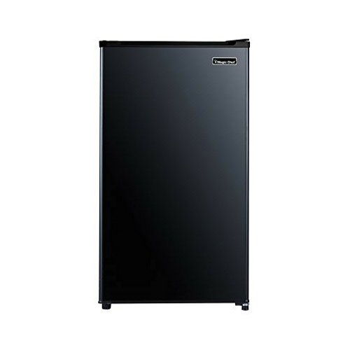 Magic Chef 3.2 cu ft Compact All Refrigerator, Black Compact Refrigerator Auto Defrost