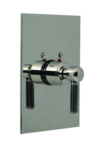 Santec Enzo Polished Chrome Thermostatic Shower - Trim Only W/ En Handle (Includes 3/4