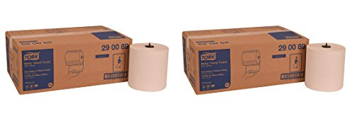 Tork 290089 Advanced Matic Paper Hand Towel Roll, 1-Ply, 7.7'' Width x 900' Length, White (Case of 6 Rolls, 700 Feet per Roll, 4,200 Feet) (2-PACK) by SCA Tork Brand (Image #9)