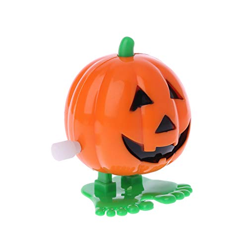 Because0f Chattering / Chomping Wind-up Toy Walking Pumpkin Toy Halloween Toy - 5 -