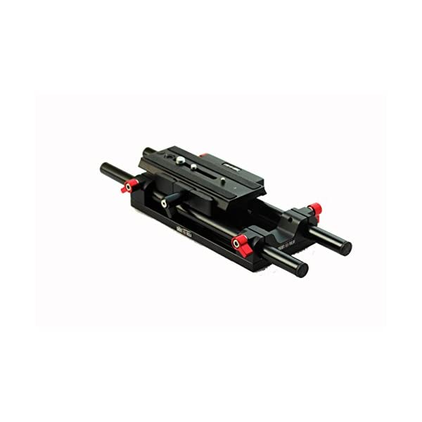 Shootvilla Universal Rail System 15mm Rod Support for EOS 5D Mark2 7d 550d t2i DSLR DV Camera HDV Video 1