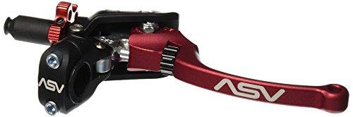 ASV Inventions CDC606PX-R C6 Red Universal Pro Perch Clutch Lever (Asv Clutch Perch)