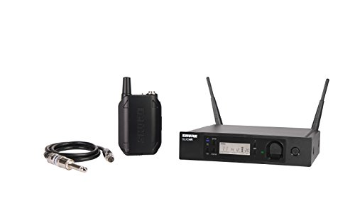 Shure GLXD14R-Z2 Rechargeable Wireless System with WA302 2.5' TA4F to 1/4