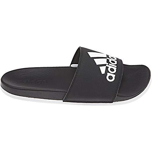 purchase cheap bf85a c3bd3 Eu Plage De 43 Ftwr 1 Black Noir Chaussures Adidas Adilette Comfort Wht  amp 3 Femme ...