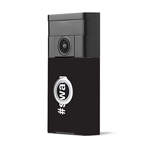 MightySkins Skin for Ring Video Doorbell - Swag | Protective, Durable, and Unique Vinyl Decal wrap Cover | Easy to Apply, Remove, and Change Styles | Made in The USA