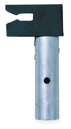 Pole Adapter, Aluminum, Rubber by MSA (Image #1)