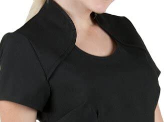 Emily Salon Beauty Spa Tunic in Black White and Hot Pink Size 8,10,12,14,16,18,20,22