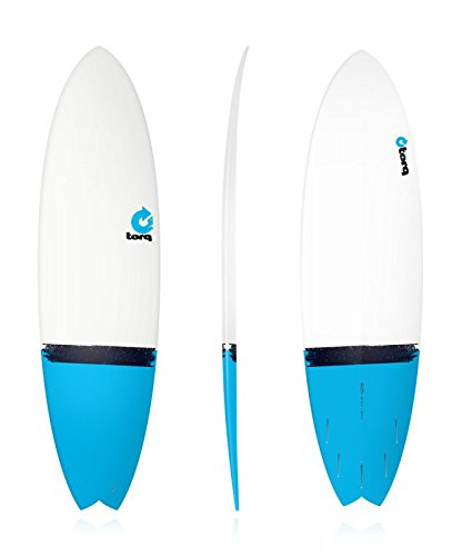 Tabla de surf epoxi Torq 6.10 Fish Blue Tail: Amazon.es: Deportes y ...