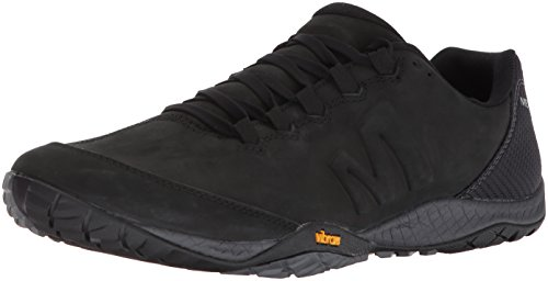 Merrell Black Leather Parkway Emboss Men's Sneaker 7Cqrw7Xxzn