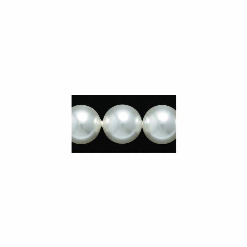 Available Swarovski Elements Bead - Swarovski 5810 Crystal Round Pearl Beads, 10mm, White, 10-Pack