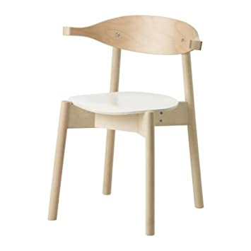 IKEA BOJNE - Silla con brazos, haya luz: Amazon.es: Hogar
