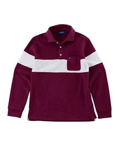 アーノルドパーマー ゴルフウェア ポロシャツ 長袖 メンズ カットパイル長袖シャツ AP220202H01 BD O