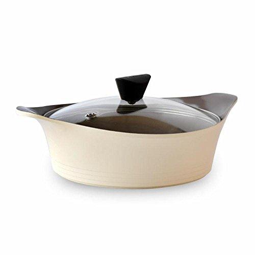 Cuisine Soupe Pot Antiadhésive AluminiumCuisine Outils,Beige-OneSize