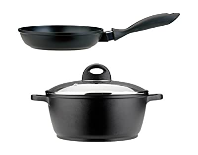 BergHOFF CooknCo 3-Piece Cast Aluminum Cookware Set