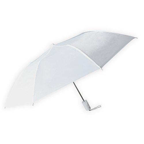 Barton Outdoors White Compact Rain Umbrella, Pack of 12
