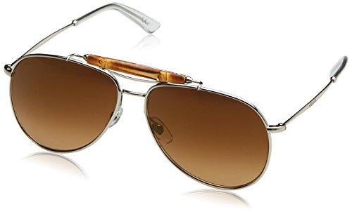 GUCCI SONNENBRILLE AVIATOR BAMBO *GG 2235 010/4D* - Neu Sunglasses