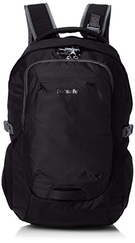 Pacsafe Venturesafe G3 25 Liter Anti Theft Travel Backpack/Daypack-Fits 15' Laptop, Black