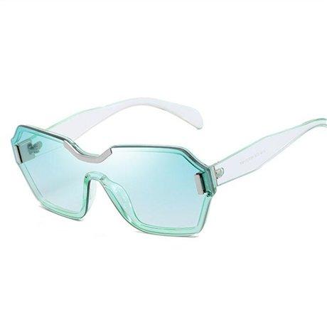 Pc Clásico Sombras Marca Gafas Ggssyy Mujer Hombre Negro Uv400 Moda Gradiente Remache Green Lente De La Sol Diseñador Marco HOw8P