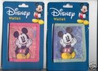 ディズニーミッキーマウス二つ折り財布 B000J36LWE