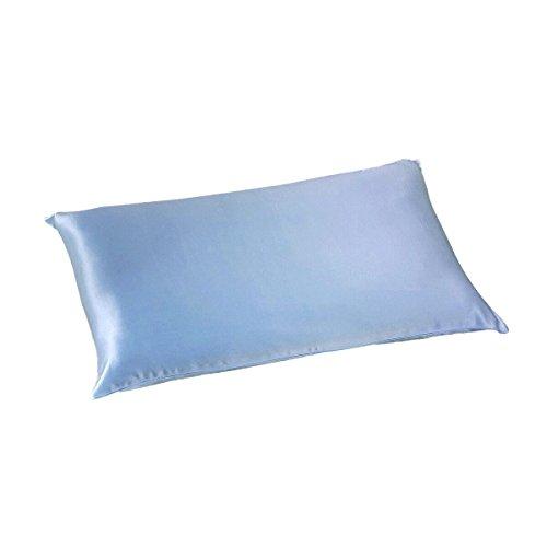 ALASKA BEAR Luxurious 25 Momme Silk Pillowcase, 100% Mulberry Silk Pillow Case Cover, King(1, ()