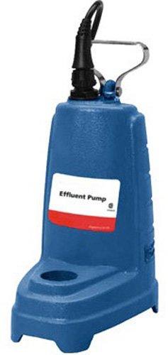 Goulds Pumps Impeller - GOULDS PUMPS PE51P1 Effluent Pump with Float Switch, Cast Iron, 1/2 hp, 115V