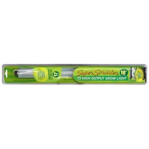 Super Sprouter T5 High Outlet Grow Light Fixture, 18''