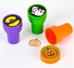 Halloween Stamps; Includes: Bats, Ghosts, Pumpkins Pack of...