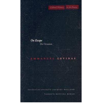 Download [(On Escape)] [Author: Emmanuel Levinas] published on (March, 2003) pdf epub