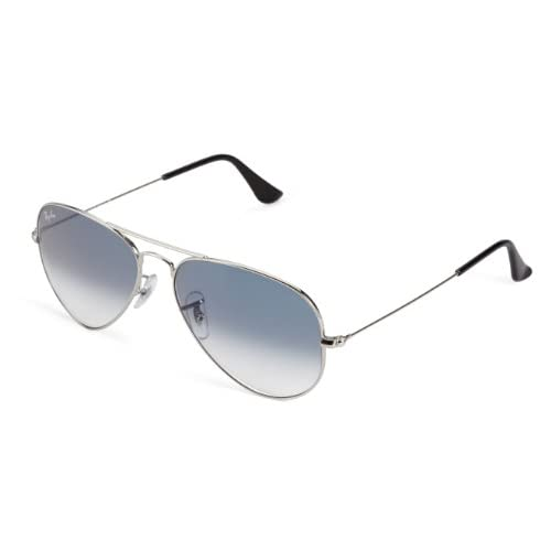 2efe48ebfd Ray-Ban Aviator Large Metal - Gafas de sol unisex, SILVER, 55 Buena ...