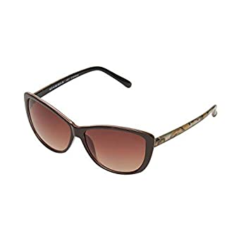 Vast Light Weight Cat Eye Women Sunglasses (9918C1BROWN_CATEYE)